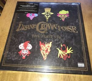 INSANE CLOWN POSSE FIRST 6 BOX SET NEW SEALED GREAT FOR COLLECTOR'S  CD/DVD