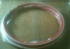 1 PAIR NOS RIGIDA DP18 RED 36 HOLE CLINCHER RIMS