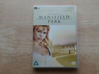 JANE AUSTENS MANSFIELD PARK DVD UK EDITION REGION 2 PERIOD DRAMA BILLIE PIPER