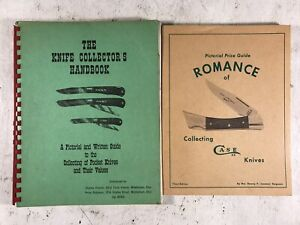 Knife Collector's Handbook & Romance of Collecting Case Knives 2 Books Pocket