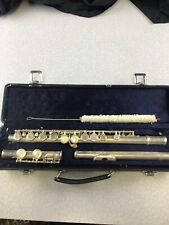 Alpine Woodwinds Al-226L Silver Plated Flute Student Level With Case Kg A3