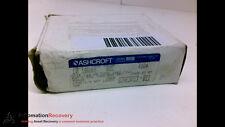 ASHCROFT 10 1008A, METRIC CASE GAUGE, 0 - 400 PSI #204974