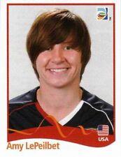 Panini FIFA World Cup 2011 Germany Women Sticker #187 Amy LePeilbet USA