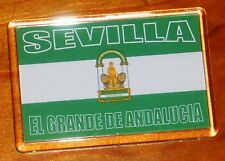 Sevilla Andalucia Andalusia football flag fridge magnet