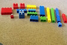Pre Owned Mega Blocs, Set Of 56.  See Pictures For details.   #56