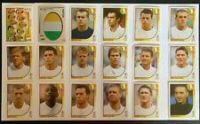 Panini FIFA WM 2002 Japan Südkorea - *Team Irland* Komplett-Set alle 18 Sticker