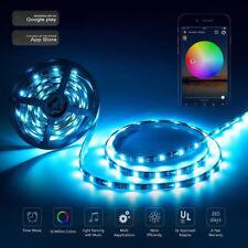 10M Smart Wifi 5050 RGB 300 LED Strip Lights Decor For Alexa Echo Google Home