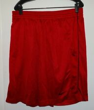 MENS NIKE MESH BASKETBALL SPORT ATHLETIC SHORTS RED SIZE XL
