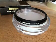 OLYMPUS 49mm  Skylight (1A) FILTER