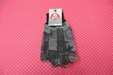 Hot Shot Hunting Gloves 100% Nylon Gray-Brown Jacob Ash Co. Style 97-1737T