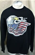 Vintage September 11th, 2001 (Large) World Trade Centers Memorial Sweatshirt