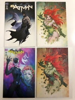 BATMAN Issue 50 Comic Book MICHAEL TURNER 4 VARIANT SET Comic Con Virgin - NM