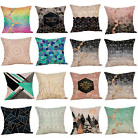Multicolor Pillow Sequin Cover Glitter Sofa Waist Throw Cushion Case Home Decor
