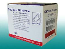 BD Blunt Fill Needle G18 Sicherheitsaufziehkanüle
