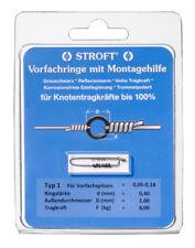 STROFT Vorfachringe Pitzenbauer Typ 1 = 0,05mm - 0,18mm Vorfachspitzen