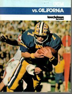 1975 (Oct.25) College Football program California Bears @ UCLA Bruins ~ Good