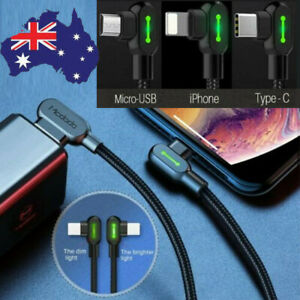 MCDODO Fast USB Cable Heavy Duty Charging Syn Charge For Type-C,Micro-USB,iPhone