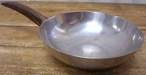 Denmark 18/8 Stainless Steel Saute Pan Wood Wooden Handle