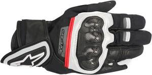 ALPINESTARS RAGE Drystar Street Riding Gloves (Black/White/Red) Choose Size