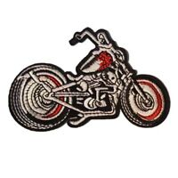 Chopper style Motorbike Biker Patch  Iron On Patch Sew on Embroidered New
