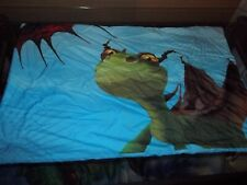HOW to TRAIN Your DRAGON Microfiber Reversible Pillow Case (Fabric)