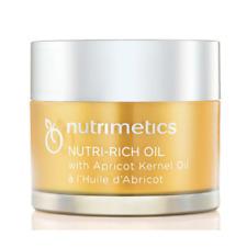 Nutrimetics Nutri-Rich Apricot Kernel Beauty Skin Face Oil Moisturiser 60 ml