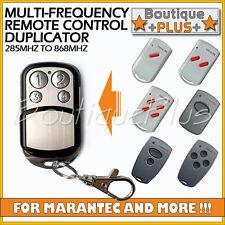 Multi-Frequency Universal Garage Remote Control Duplicator Marantec Digital