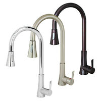 Euro Contemporary Pull Down Kitchen Sink Faucet Dual-Spray Soap Dispenser Cover