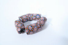 5 Millefiori Glasperlen BC62 Old Venetian African Trade Beads Murrine Afrozip