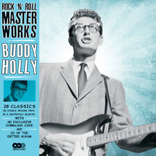 Rock 'n' Roll Master Works 5024952740062 by Buddy Holly Vinyl Album With CD