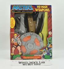 He-Man Weapons Set He-Man MOTU MIB 1982 Mattel Masters of the Universe Vintage