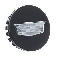 OEM NEW Wheel Hub Center Cap Black w/ Silver Crest Logo 15-19 Cadillac 19329257