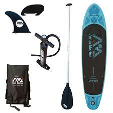 "Aqua Marina Vapor  - 10' 10"" Inflatable Stand Up Paddle Board (SUP) w/  Paddle"