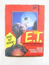 E.T. The Extra-Terrestrial Trading Card Box