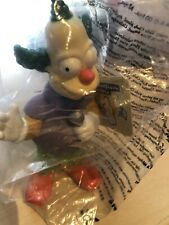 Krusty The Clown From The Simpsons Burger King Toy New Still In Packet