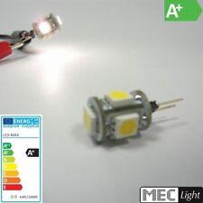 10-30v//dc 18x 3-Chip-SMDs Bianco 3,8w 288lm G4 LED penna Socket-cilindro