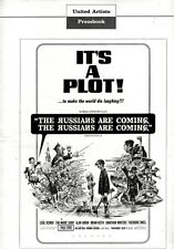 THE RUSSIANS ARE COMING pressbook, Eva Marie Saint, Jonathan Winters, Paul Ford
