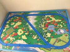 LARGE Thomas Tomy Train Crossed Track Start Up Set Blue For Trackmaster Engines