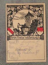 ANSICHTSKARTE WEIßENBURG