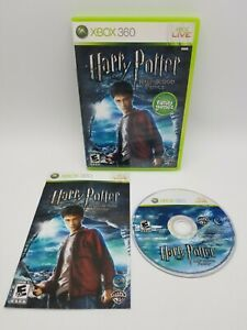 Harry Potter and the Half Blood Prince (Microsft Xbox 360, 2009) Tested & Works