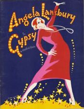 "Angela Lansbury & Rex Robbins  ""Gypsy""  Souvenir Program 1974  Broadway Revival"