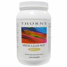 NEW THORNE RESEARCH MEDICLEAR-SGS SUPPLEMENT ENHANCED LIVER SUPPORT POWDER 1071g