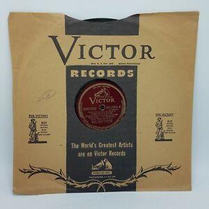 Carlos Ramirez - Dame De Tus Rosas / Mala Noche - RCA Red SEal 78 RPM Near Mint