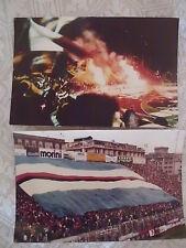 SAMPDORIA CALCIO 2 FOTO GRADINATA SUD ULTRAS ULTRA' FEDELISSIMI STADIO DERBY '83