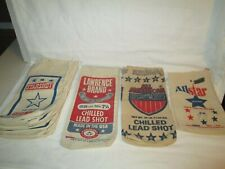 Lot Of (18) Assorted Sizes And Brands Of Lead Shot Bags