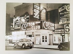 THE COTTON CLUB,1936' AUTHENTIC 2002 ART PHOTO PRINT