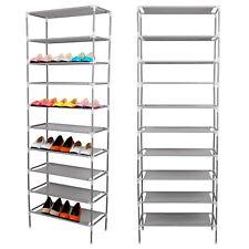 Schuhregal 10 Ebenen Schuhständer Schuhablage Stecksystem Schuhe Schuhschrank