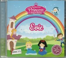 EVIE - THE BEST EVER PRINCESS SONGS & STORIES PERSONALISED CHILDREN'S CD