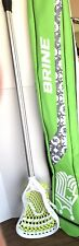 New listing Gait Lacrosse Stick And Brine Bag - Stick Pre-owned, Bag Is New.