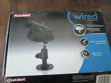 First Alert 8800 Wired Color Security Camera W// 60FT Signal Cable set of2